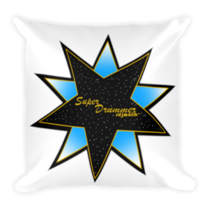 sdjmalik Logo Square Pillow