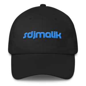 Blue Embroidery sdjmalik Classic Dad Cap