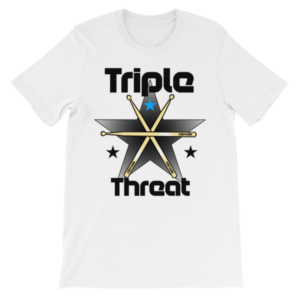 Triple Threat short sleeve t-shirt