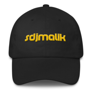 Gold Embroidery sdjmalik Classic Dad Cap